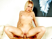 Val is a super lascivious Nubile who just barely turned 18 and already she has a massive hunger for pecker that she can't control. Watch her in action as she gives an excellent blow job and widens her legs for a greedy cock!